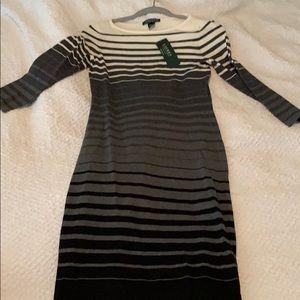 Ralph Lauren NWT striped dress